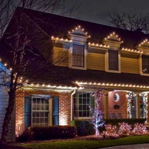 Christmas Lights Installation: Our Services