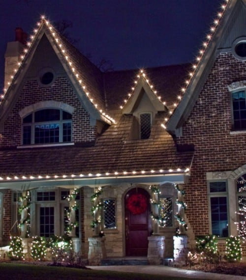 Christmas Light Installation Fort Worth