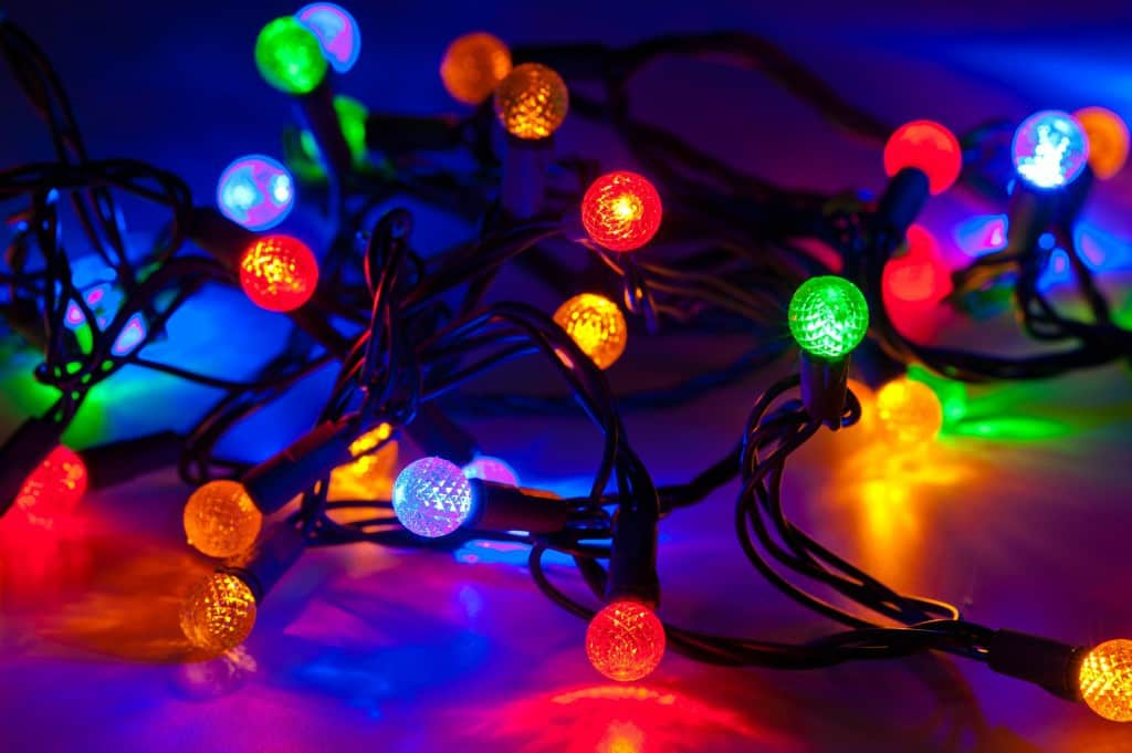 Storing Christmas Lights