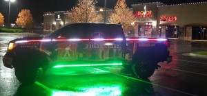 Christmas Light Installation Truck