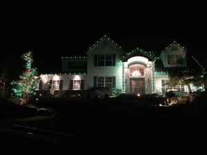 Christmas Light Installation for Homes