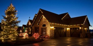 Residential Christmas Lights Installations