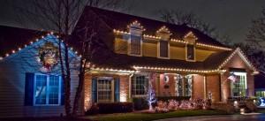 Residential Christmas Lights Installation