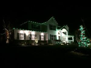 Beautiful Christmas Lights Installation