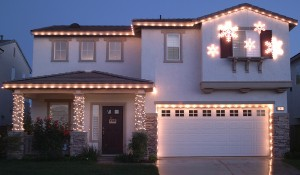 Beautiful Christmas Lights Installing