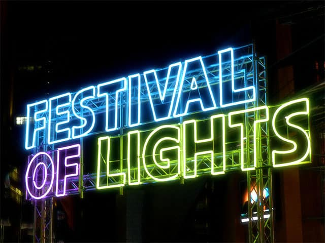 Festival of Lights Installation