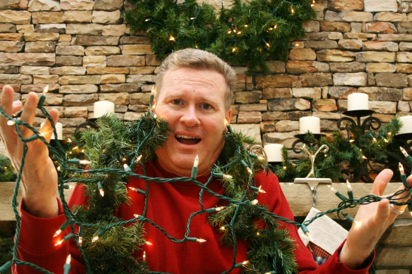 How to Untangle Christmas Lights
