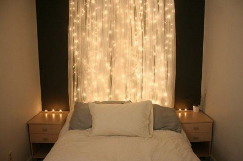 Christmas Light Ideas Bedroom Part - 41: We Hang Christmas Lights
