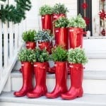 Creative Christmas Decorating for your Porch