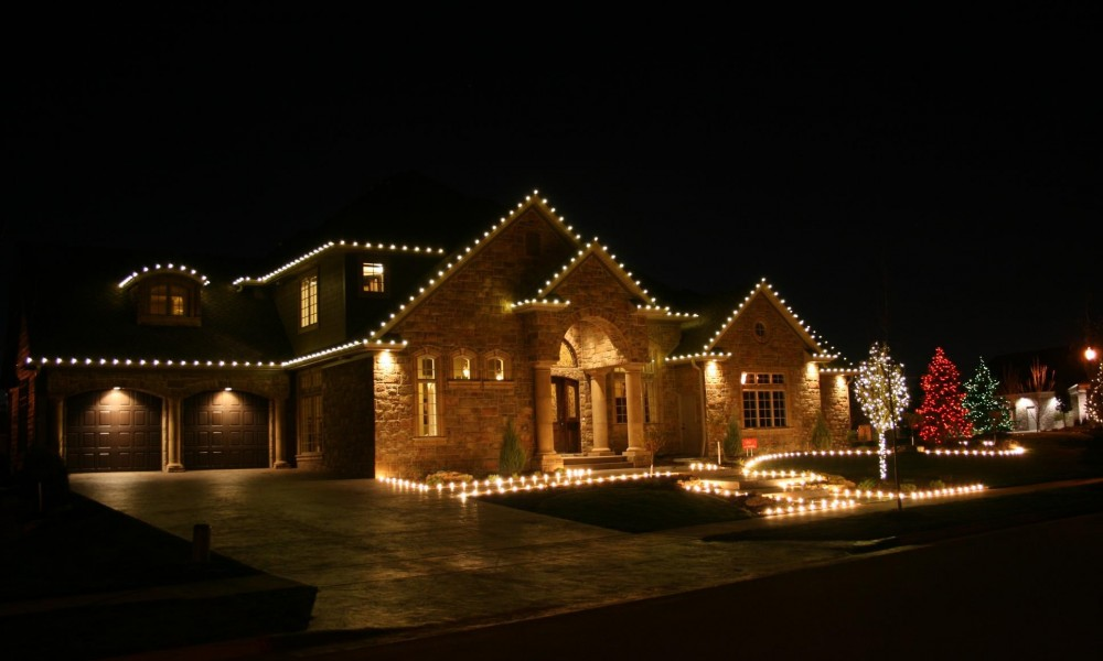 Christmas Light Installation in Boise, ID