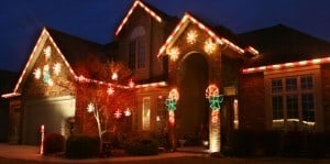 Candy Cane Christmas Lights