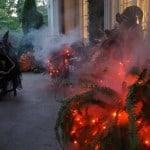 Halloween Lights Red
