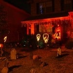 Halloween Lights Orange