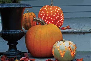 Create Pumpkins with Lights