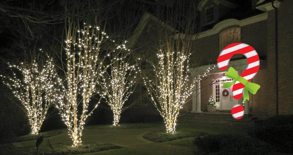 Christmas Light Installation Questions