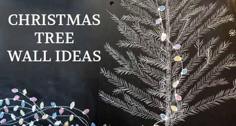 Wall Christmas Tree Ideas