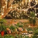Dazzling outdoor lighting