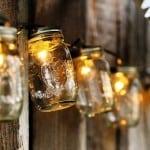 String Lights Mason Jars