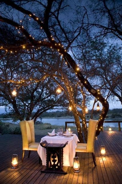Romantic Creative Outdoor Lighting