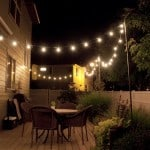 Hanging Outdoor Patio Light String