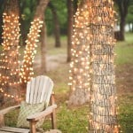 Relaxing Home Decor using Christmas Lights