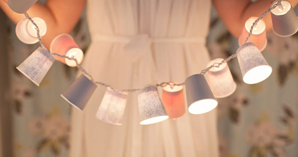 DIY Dixie Cup Lights