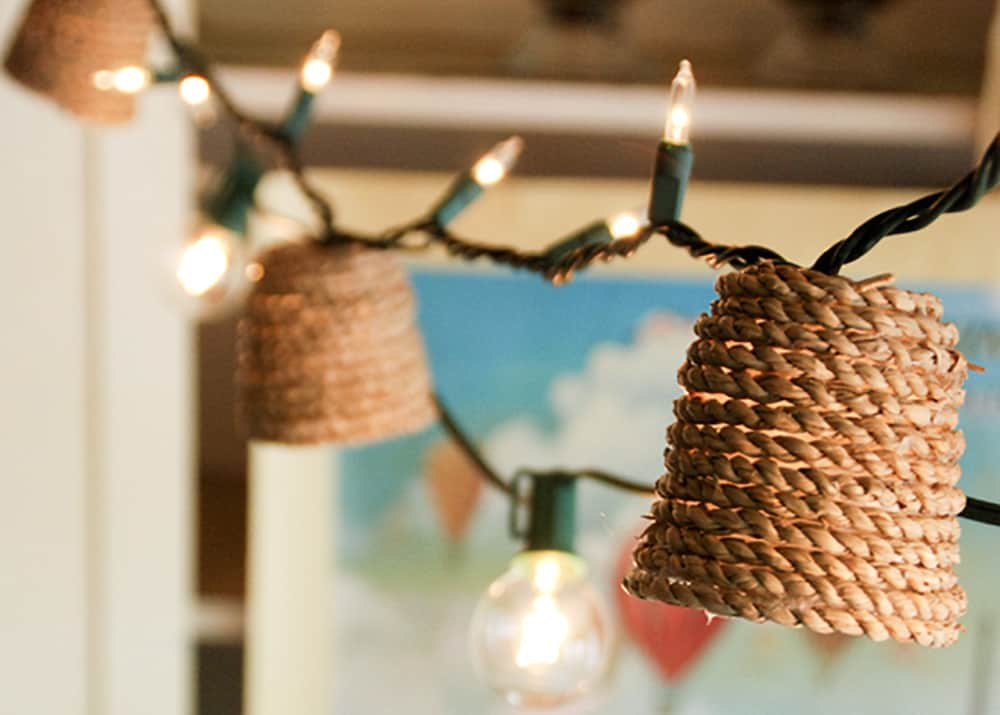 Christmas Light Shades