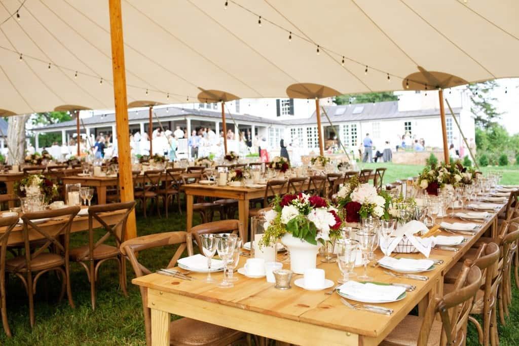 wedding lights tent