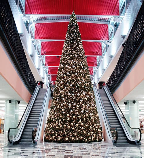 CHRISTMAS LIGHT INSTALLATION FOR MALLS