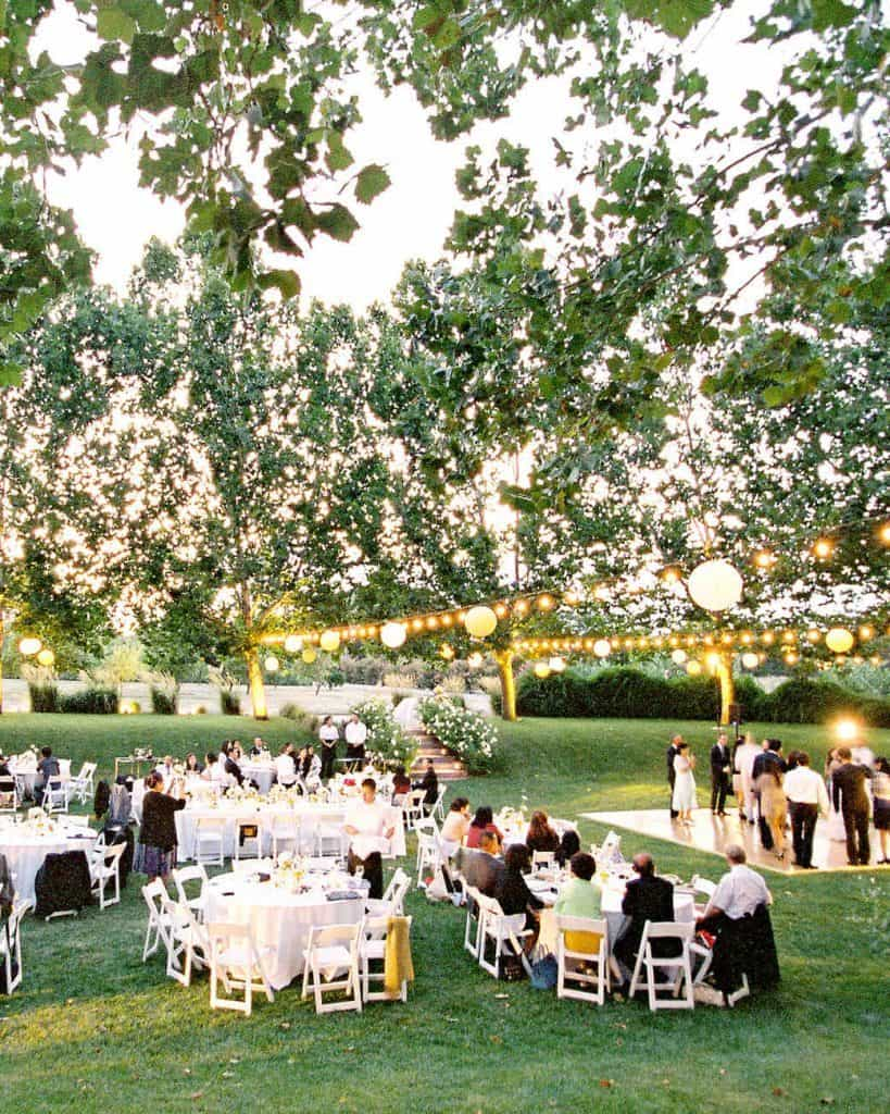 Popular Outdoor Wedding Paper Lantern Lighting