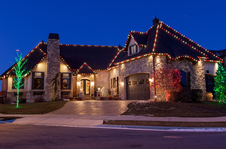 Estimate On Your Christmas Light Installation. This Christmas, Outshine The