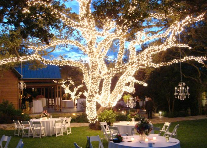 Ideas for wedding reception decorating with lights junglespirit Gallery