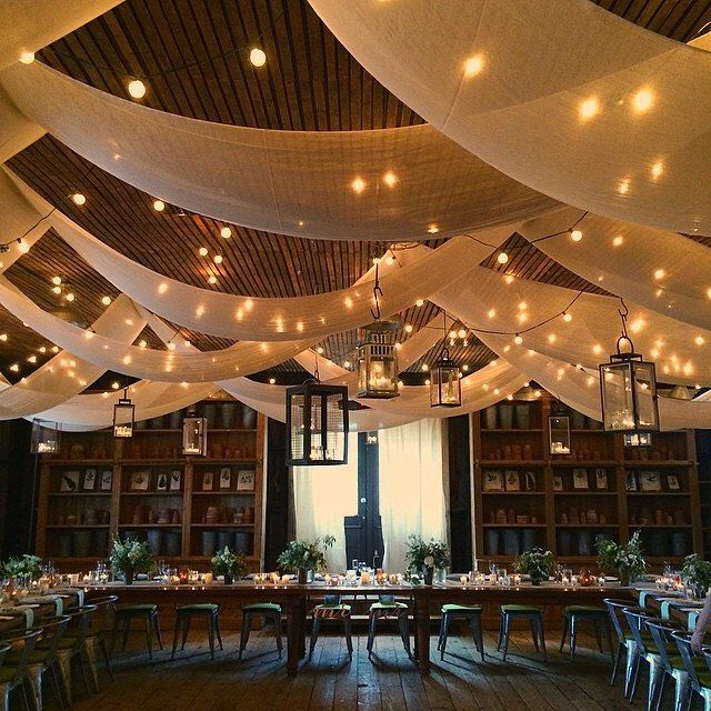30 Stunning And Creative String Lights Wedding Decor Ideas: IDEAS FOR WEDDING RECEPTION DECORATING WITH LIGHTS