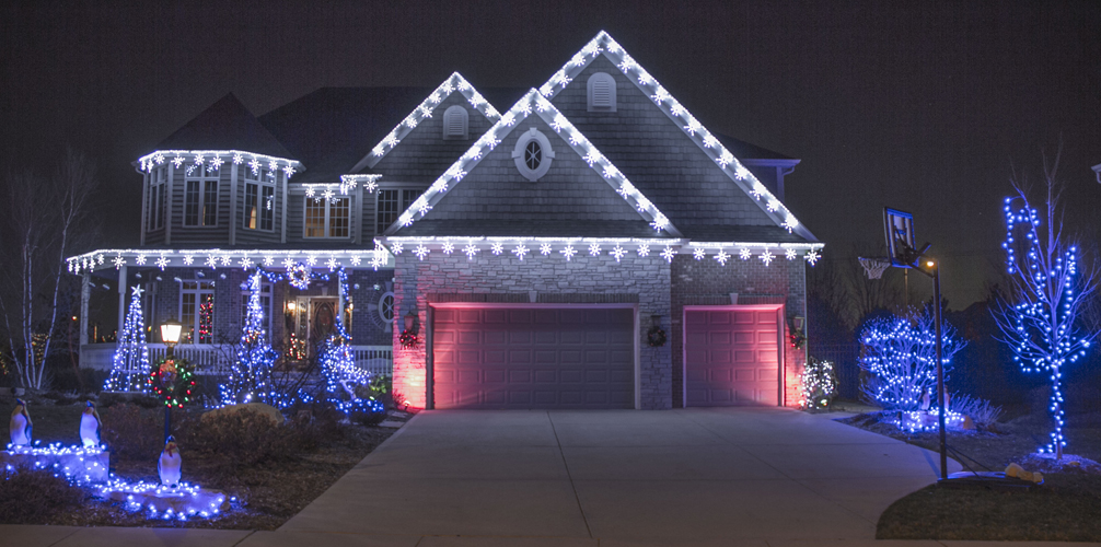 Christmas Light Installation Photos - Christmas Light Installation-