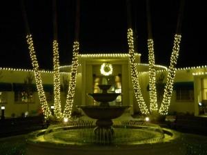 Christmas Light Hanging