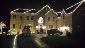 All White Christmas Lights