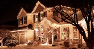 Christmas Lights on Home