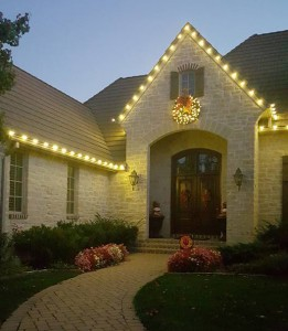 Install Christmas Lights